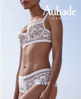 Aubade Bow White