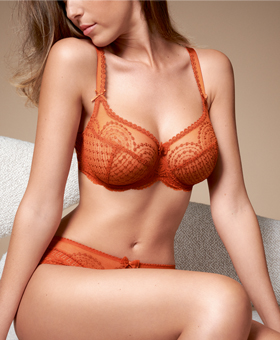 Empreinte Norah Rust Orange