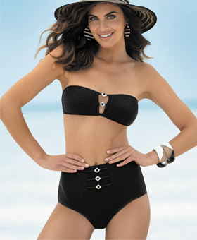 Lise Charmel Swim L'Exquise Black