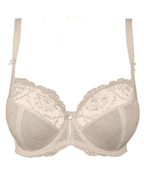 Lilly Rose Chantilly Underwired Bra Ivory Full Cup