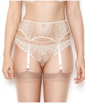 Abrielle Chalk Suspender Belt Suspender Belts