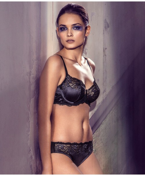 Lace Affair Graphite Full Cup Bra