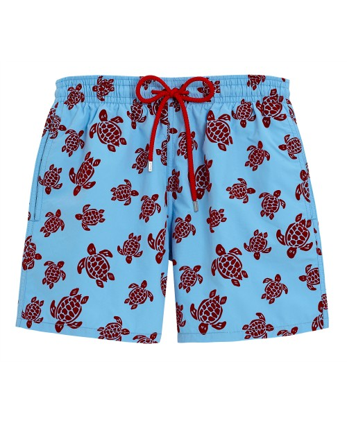 Moorea Flock Turtles Swim Shorts Blue Classic Swim Shorts