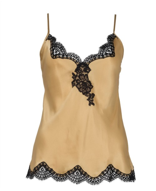 Aubade Bal Soie D'Amour Camisole Top Gold