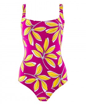 Danse Feuilles Rose Swimsuit