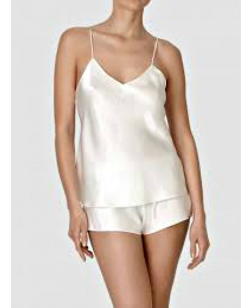 Basic Seduction Spaghetti Strap Camisole Ivory Camisoles & Vests