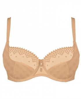 Jazz Caramel Low Necked Bra