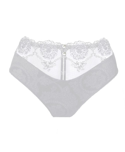 Lilly Rose White Culotte Full Brief