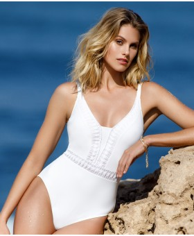 Roulette Ivory Swimsuit