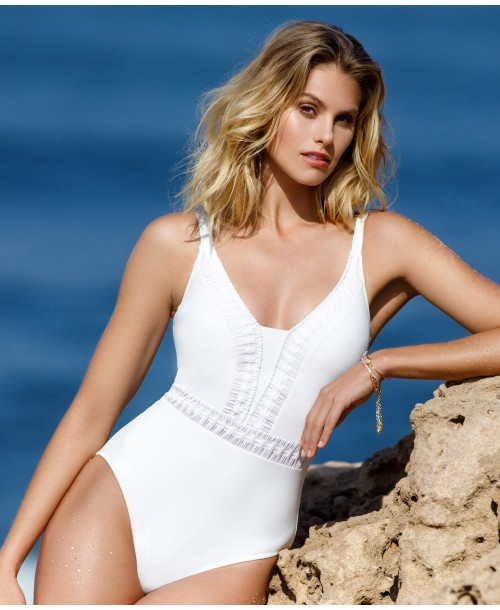 Gottex Roulette Ivory Swimsuit