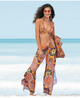 L'Avatar Orange Beach Trousers