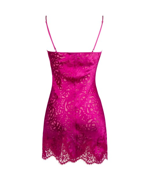 AA Dressing Floral Magenta Chemise
