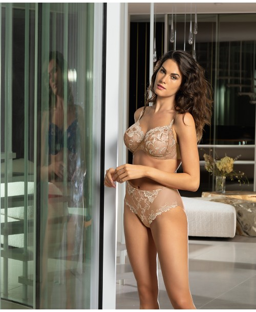 Lise Charmel Guipure Charming Natural Full Cup Bra