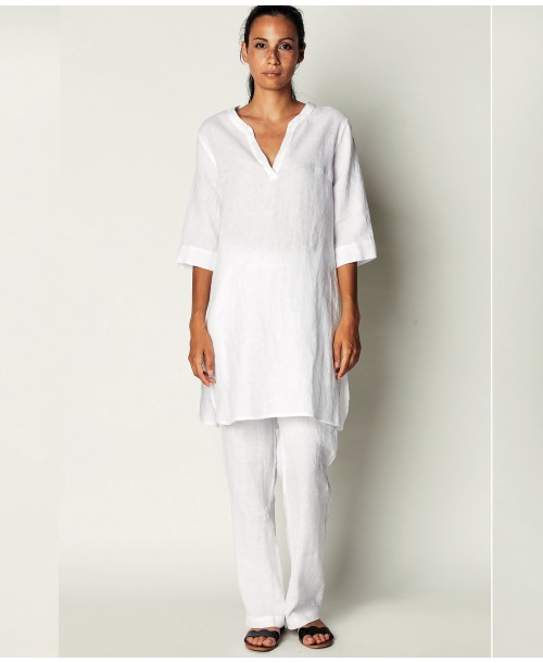 La Fabbrica Del Lino A Linen Tunic Dress