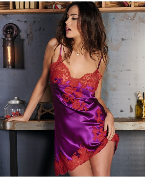 Gemma Aster Rouge Chemise