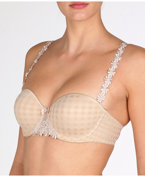 Avero Cafe Latte Strapless Bra Padded