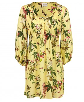 Fleuri Soft Yellow Tunic