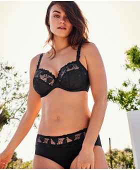 Forever Black Full Cup Bra