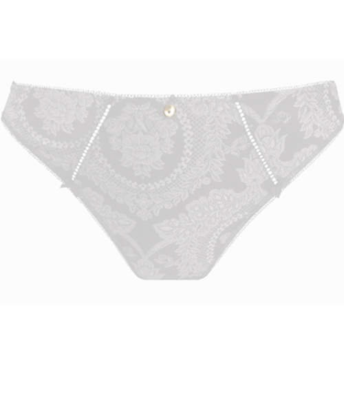 Lilly Rose Thong White Thong