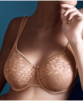 Melody Underwired Seamless Bra Caramel Smooth & Seamless