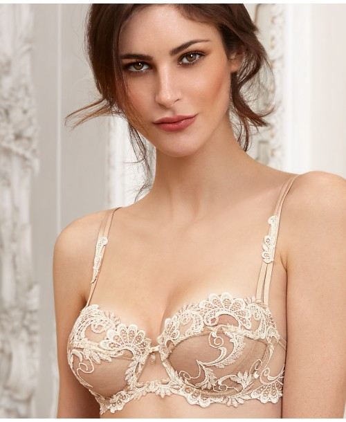 Dressing Floral Balcony Bra Natural Twist Balcony
