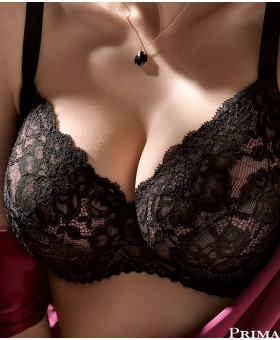 Couture Underwired Bra Black Full Cup