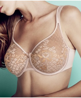 Melody Underwired Seamless Bra Gold Smooth & Seamless