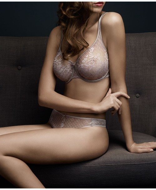 Melody Low Necked Seamless Bra Rose Tea Full Cup