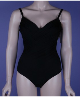 Canne Underwired Swimsuit Black Ceylan