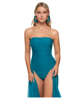 A Ceylan Linda Resort Bandeau Swimsuit