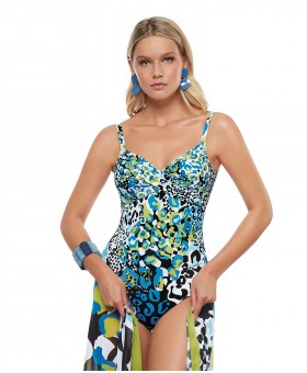 Sirgana Damask Underwired Swimsuit