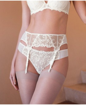 Decadence Jasmine Suspender Belt