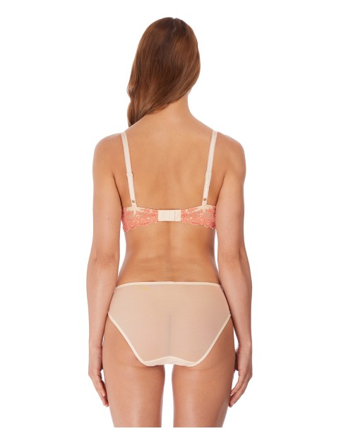 Wacoal A Embrace Lace Dew Coral Brief