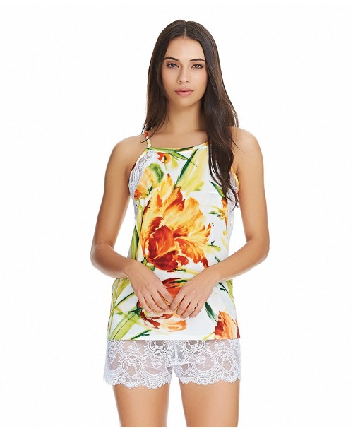 Chrystalle Camisole Top